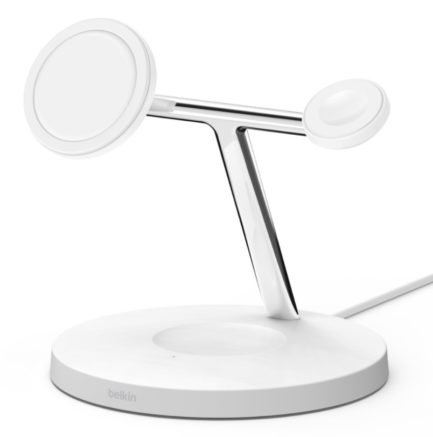 Belkin BOOST CHARGE PRO 3-in-1 Wireless Charger with MagSafe 15W
