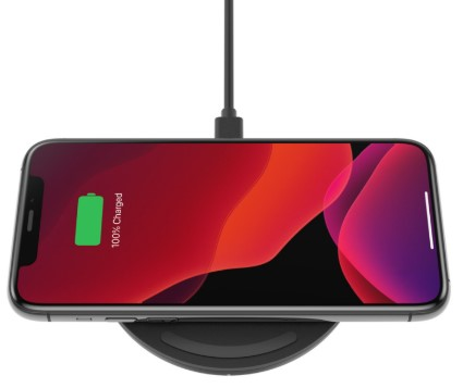 Belkin 10W Wireless Charging Pad with Power Supply & Micro USB Cable
